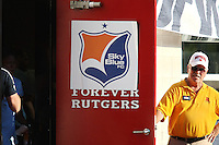 Piscataway, NJ - Saturday July 23, 2016: Sky Blue dressing room door prior to a regular season National Women's Soccer League (NWSL) match between Sky Blue FC and the Washington Spirit at Yurcak Field.