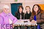 l-r  Eileen Mangan, Margo Hartnett, Louise Hartnett and Eleanor Mangan enjoying the Mercy Mounthawk Monster Bingo Fundraiser on Sunday