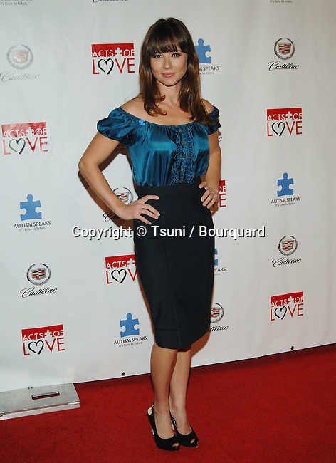 Linda Cardellini -<br /> 6th Annual Act Of Love to Benefit Autism Speak at the Geffen Theatre in Los Angeles.