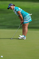 Ai Suzuki reacts to missing a putt during Round 3 at the ANA Inspiration, Mission Hills Country Club, Rancho Mirage, Calafornia, USA. {03/31/2018}.<br />