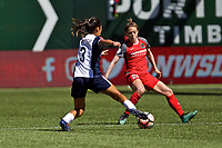 Portland, OR - Saturday September 02, 2017: Meghan Klingenberg during a regular season National Women's Soccer League (NWSL) match between the Portland Thorns FC and the Washington Spirit at Providence Park.