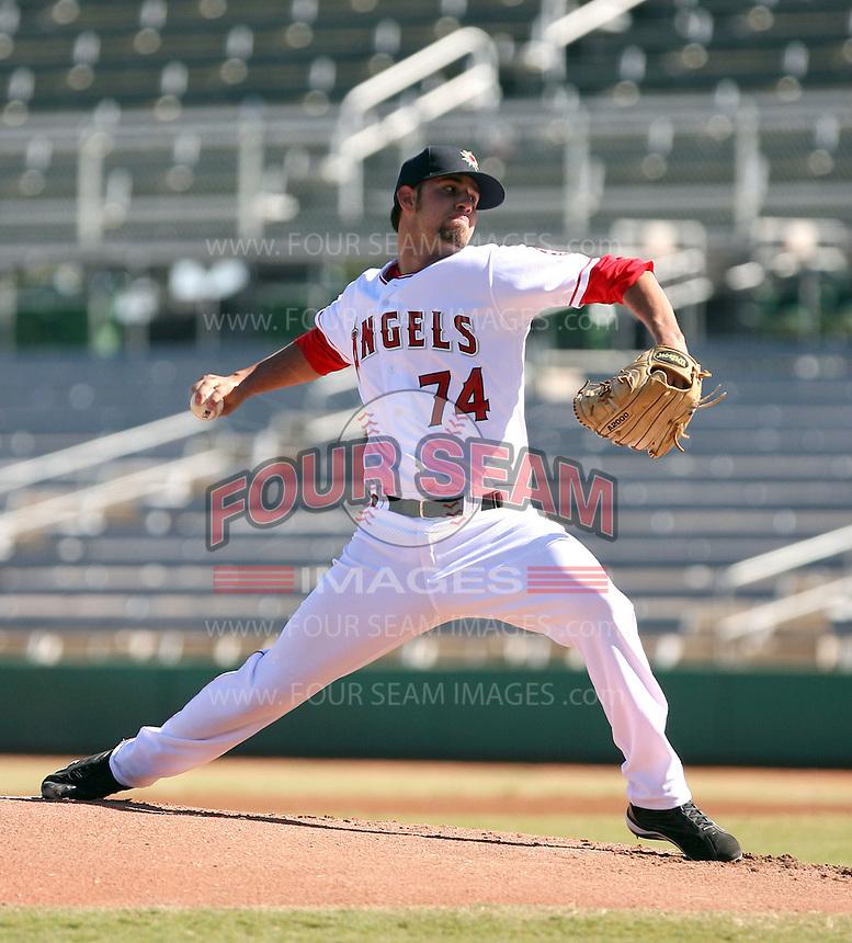 Tommy Mendoza - Mesa Solar Sox, 2009 Arizona Fall League.Photo by:  Bill Mitchell/Four Seam Images..
