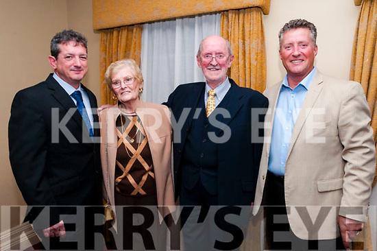 50th Wedding Anniversary: Gerry & Ethnea Hughes , Abbeyfeale with their sons David & Jonathan celebrating their 50th wedding anniversary at the Listowel Arm's Hotel on Saturday last/