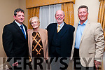 50th Wedding Anniversary: Gerry & Ethnea Hughes , Abbeyfeale with their sons David & Jonathan celebrating their 50th wedding anniversary at the Listowel Arm's Hotel on Saturday last/
