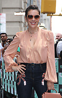 NEW YORK, NY August 07, 2018 Alyssa Milano at Build Series to talk new NetFlix original iNSATIABLE  A Coming of Rage Story in New York. August 07, 2018 <br /> CAP/MPI/RW<br /> &copy;RW/MPI/Capital Pictures