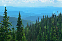 View , Sunpeaks near Kamloops, British Columbia, Canada
