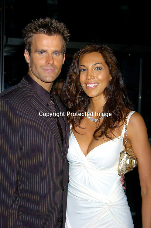 Cameron Mathison and wife Vanessa ..arriving at the Daytime Emmy Awards on May 21, 2004 at  at Radio City Music Hall...Photo by Robin Platzer, Twin Images