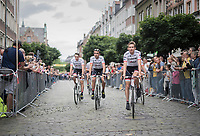 Team Trek-Segafredo<br /> <br /> &quot;Le Grand D&eacute;part&quot; <br /> 104th Tour de France 2017 <br /> Team Presentation in D&uuml;sseldorf/Germany