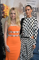 BEVERLY HILLS, CA. October 13, 2016: Dakota Fanning &amp; Jennifer Connelly at the Los Angeles premiere of &quot;American Pastoral&quot; at The Academy's Samuel Goldwyn Theatre.<br /> Picture: Paul Smith/Featureflash/SilverHub 0208 004 5359/ 07711 972644 Editors@silverhubmedia.com