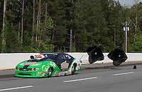May 11, 2013; Commerce, GA, USA: NHRA pro stock driver Mike Edwards during the Southern Nationals at Atlanta Dragway. Mandatory Credit: Mark J. Rebilas-