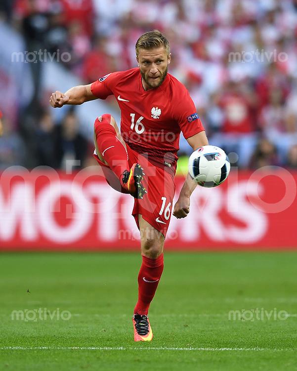 FUSSBALL EURO 2016 GRUPPE C IN PARIS Deutschland - Polen    16.06.2016 Jakub Blaszczykowksi (Polen)