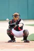 June 2, 2007:  David Parrish of the Indianapolis Indians at Victory Field in Indianapolis, IN.  Photo by:  Chris Proctor/Four Seam Images