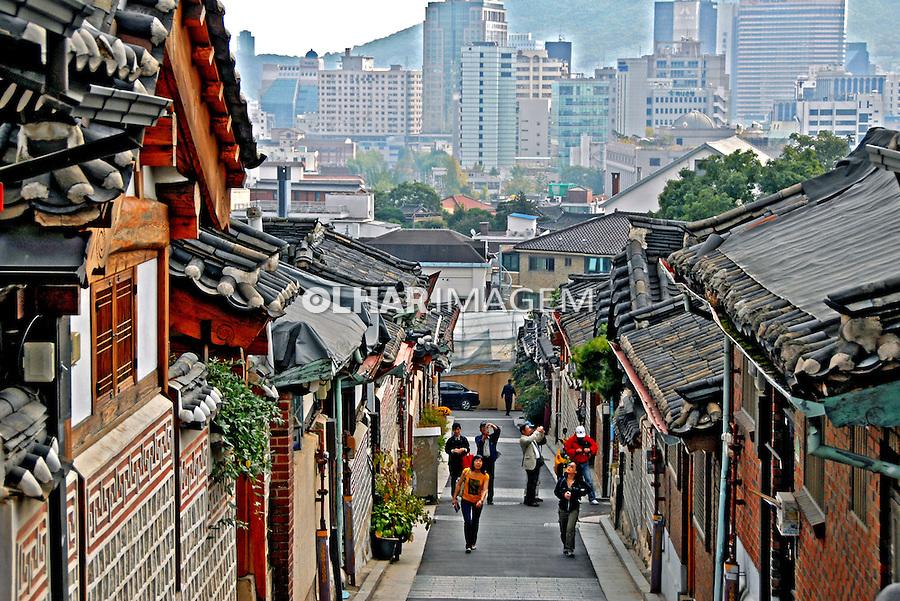 Bairro na cidade de Seul capital da Coréia do Sul. 2009. Foto de Thaïs Falcão.