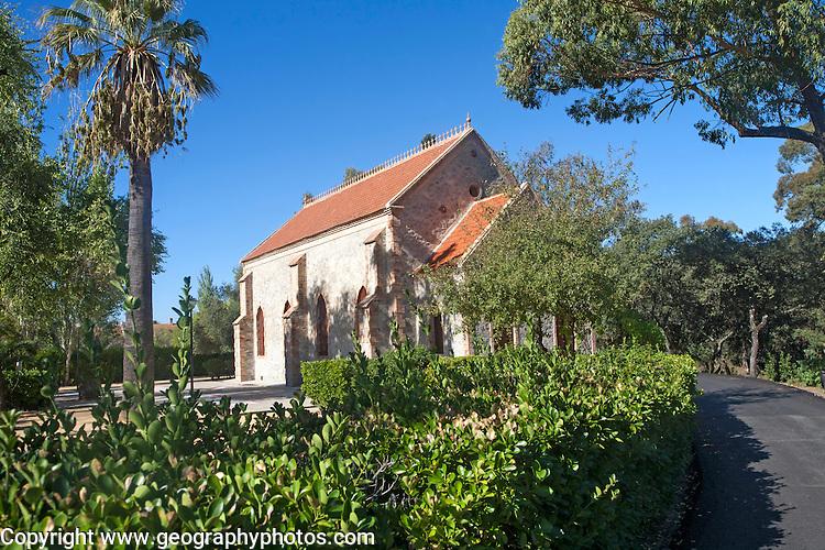 Protestant church, Barrio de Bella Vista the ´English colony´, Rio Tinto mining area, Huelva province, Spain