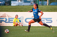 Kansas City, MO - Sunday September 3, 2017: Sydney Leroux Dwyer during a regular season National Women's Soccer League (NWSL) match between FC Kansas City and Sky Blue FC at Children's Mercy Victory Field.