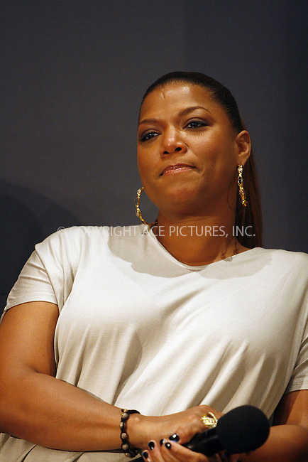 WWW.ACEPIXS.COM . . . . .  ....May 6 2010, New York City....Actress Queen Latifah speaks in the Apple Store in Soho on May 6 2010 in New York City....Please byline: NANCY RIVERA- ACE PICTURES.... *** ***..Ace Pictures, Inc:  ..tel: (212) 243 8787 or (646) 769 0430..e-mail: info@acepixs.com..web: http://www.acepixs.com
