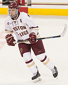 Ryan Fitzgerald (BC - 19) - The visiting Merrimack College Warriors defeated the Boston College Eagles 6 - 3 (EN) on Friday, February 10, 2017, at Kelley Rink in Conte Forum in Chestnut Hill, Massachusetts.