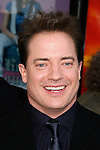 "Actor Brendan Fraser arrives at the American Premiere of ""The Mummy: Tomb Of The Dragon Emperor at the Gibson Amphitheatre on July 27, 2008 in Universal City, California."