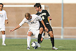 22 August 2008: VCU's Ole Laabs (GER) (19) and Wake Forest's Austin da Luz (6). The Wake Forest University Demon Deacons defeated the Virginia Commonwealth University Rams 2-1 at Fetzer Field in Chapel Hill, North Carolina in an NCAA Division I Men's college soccer game.