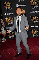 Tahj Mowry at the premiere for Disney's &quot;Beauty and the Beast&quot; at El Capitan Theatre, Hollywood. Los Angeles, USA 02 March  2017<br /> Picture: Paul Smith/Featureflash/SilverHub 0208 004 5359 sales@silverhubmedia.com