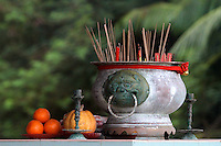 Incense Pot, Mah Choi Nui Nui Temple, Christmas Island, Indian Ocean