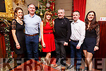 Caroline O&rsquo;Shea from Cahermoneen Tralee celebrating her 40th birthday in the Grand Hotel on Saturday night.<br /> L-r, Sandra and Brendan O&rsquo;Flaherty, Caroline, Cathal, David and Theresa O&rsquo;Shea.