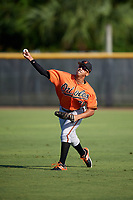 Baltimore Orioles Davis Tavarez (81) during practice before an Instructional League game against the New York Yankees on September 23, 2017 at the Yankees Minor League Complex in Tampa, Florida.  (Mike Janes/Four Seam Images)