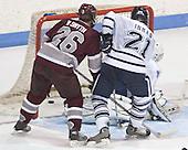 Ryan Smyth, David Inman, Matt Modelski - Colgate University defeated Yale University 6-2 at Ingalls Rink in New Haven, CT on November 5, 2005.