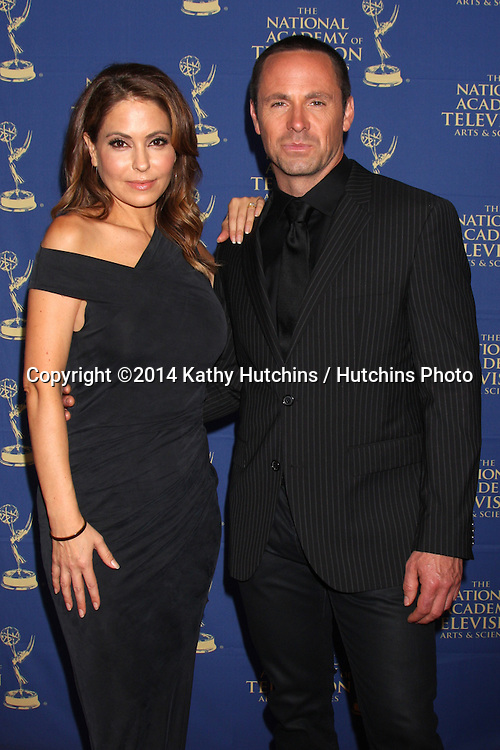 LOS ANGELES - JUN 20:  Lisa LoCicero, William deVry at the 2014 Creative Daytime Emmy Awards at the The Westin Bonaventure on June 20, 2014 in Los Angeles, CA