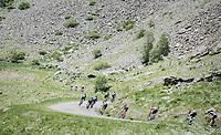 descending/bombing towards Alpe d'Huez<br /> <br /> stage 7: Aoste &gt; Alpe d'Huez (168km)<br /> 69th Crit&eacute;rium du Dauphin&eacute; 2017
