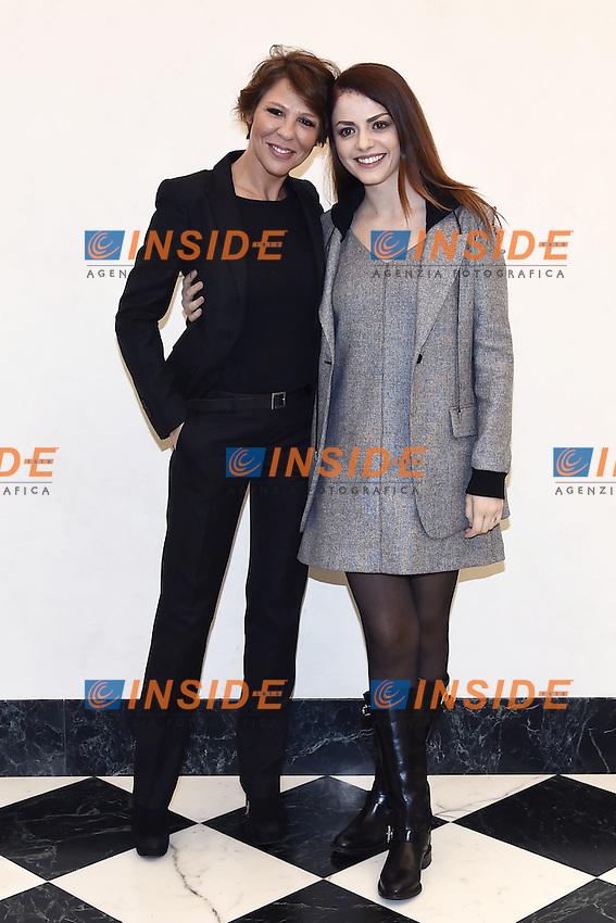 Luna Berlusconi, Annalisa Scarrone<br /> Milano 25-11-2016 - photocall trasmissione Tv 'Tutta colpa di Galileo' / foto Daniele Buffa/Image/Insidefoto