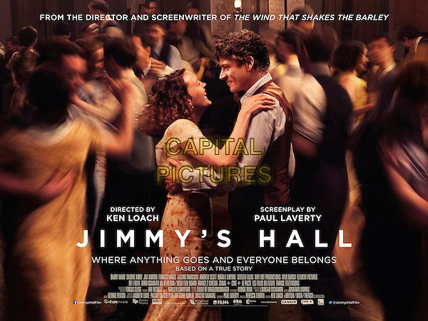 Jimmy's Hall (2014) <br /> ORIGINAL BRITISH POSTER ART<br /> *Filmstill - Editorial Use Only*<br /> CAP/FB<br /> Image supplied by Capital Pictures