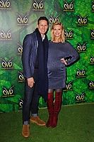 LONDON, ENGLAND - JANUARY 10: Brendan Cole and Zoe Hobbs attending 'Cirque du Soleil - OVO' at the Royal Albert Hall on January 10, 2018 in London, England.<br /> CAP/MAR<br /> &copy;MAR/Capital Pictures