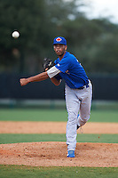 Toronto Blue Jays pitcher Kelyn Jose (33) during an instructional league game against the Atlanta Braves on September 30, 2015 at the ESPN Wide World of Sports Complex in Orlando, Florida.  (Mike Janes/Four Seam Images)