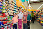 Katie Ruth Josh and Alex Kelly at the opening of the Dealz new store in Lakeland retail Park, Cavan.<br /> <br /> Picture Fran Caffrey /Newsfile