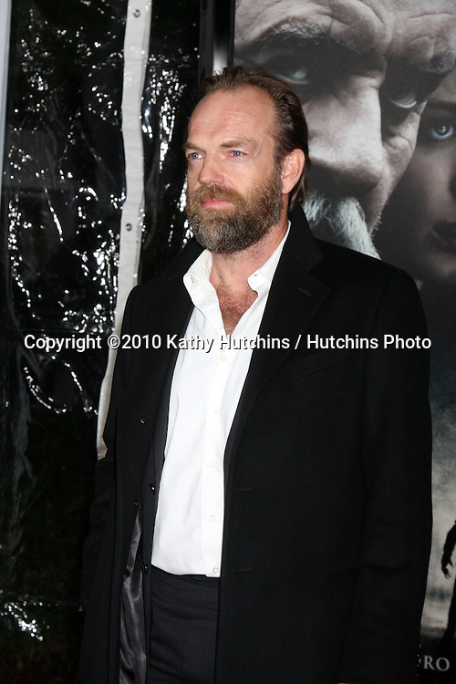 Hugo Weaving.arrivng at the premiere of The Wolfman..Arclight Hollywood.Los Angeles, CA.February 9, 2010.©2010 Kathy Hutchins / Hutchins Photo....