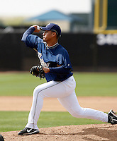 Ernesto Frieri   - San Diego Padres - 2009 spring training.Photo by:  Bill Mitchell/Four Seam Images