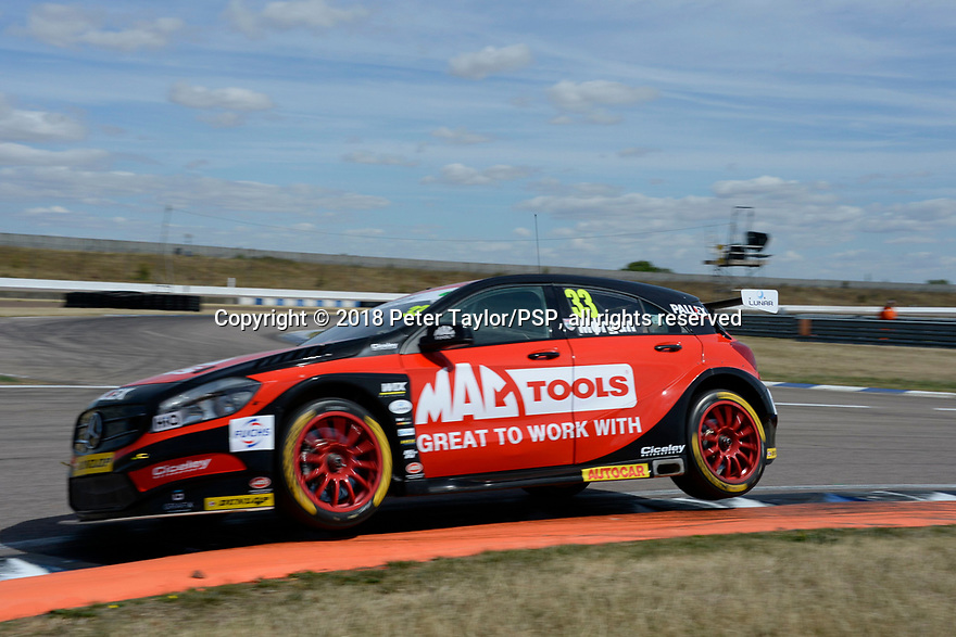 2018 British Touring Car Championship round 7 at Rockingham