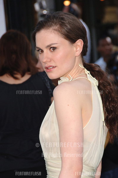 "Actress ANNA PAQUIN at the world premiere of ""Superman Returns"" in Los Angeles..June 21, 2006  Los Angeles, CA.© 2006 Paul Smith / Featureflash"