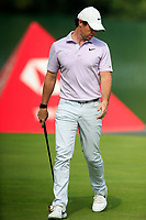Rory McIlroy (NIR) on the 2nd green during the 3rd round of the WGC HSBC Champions, Sheshan Golf Club, Shanghai, China. 02/11/2019.<br /> Picture Fran Caffrey / Golffile.ie<br /> <br /> All photo usage must carry mandatory copyright credit (© Golffile | Fran Caffrey)