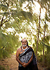 Native Hawaiian Kahu Kapi'ioho'okalani Lyons Naone at makaluapuna point, on the grounds of the Ritz-Carlton, Kapaula. Photo by Kevin J. Miyazaki/Redux