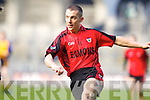 Mark Crowley Kenmare in Action against \b0\  Ballinasloe in the Junior All Ireland Club Final in Croke park on Sunday.