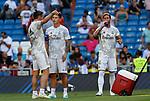 Real Madrid CF's Gareth Bale and Real Madrid CF's James Rodriguez during La Liga match. Aug 24, 2019. (ALTERPHOTOS/Manu R.B.)