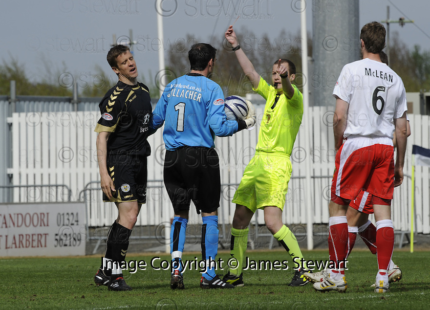 01/05/2010   Copyright  Pic : James Stewart.sct_jsp01_falkirk_v_st-mirren  .::  CHRIS INNES IS SENT OFF ::  .James Stewart Photography 19 Carronlea Drive, Falkirk. FK2 8DN      Vat Reg No. 607 6932 25.Telephone      : +44 (0)1324 570291 .Mobile              : +44 (0)7721 416997.E-mail  :  jim@jspa.co.uk.If you require further information then contact Jim Stewart on any of the numbers above.........