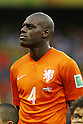 Bruno Martins Indi (NED), JULY 5, 2014 - Football / Soccer : FIFA World Cup Brazil 2014 quarter-finals match between Netherlands 0(4-3)0 Costa Rica at Arena Fonte Nova stadium in Salvador, Brazil.<br /> (Photo by AFLO)