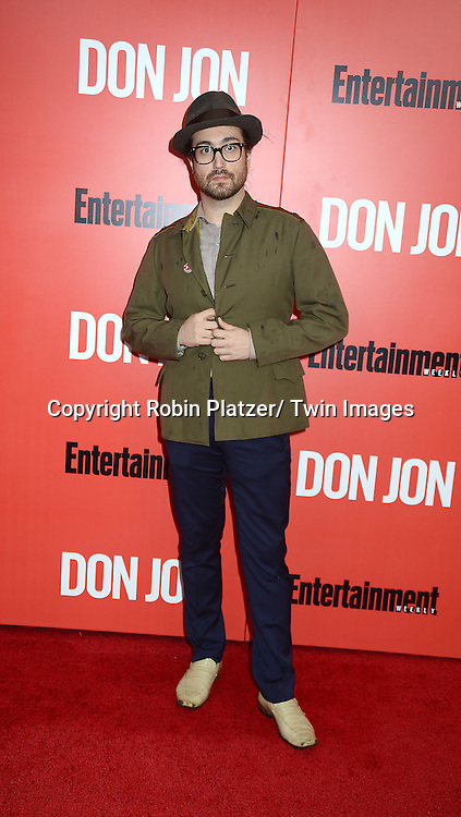 """Sean Lennon attends the """"Don Jon"""" New York Movie Premiere on September 12, 2013 at the SVA Theatre in New York City."""