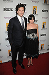 BEVERLY HILLS, CA. - October 26: Shannen Doherty (R) and Kurt Iswarienko arrive at the 13th annual Hollywood Awards Gala Ceremony held at The Beverly Hilton Hotel on October 26, 2009 in Beverly Hills, California.