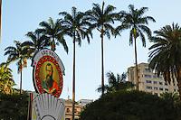 SAO PAULO, SP, 06 DE JULHO DE 2013. ARRAIAL DE SAO PAULO NO VALE DO ANHANGABAU. Decoração do Vale do Anhangabaú  durante o Arraial São Paulo  que acontece neste final de semana no centro de São Paulo. FOTO ADRIANA SPACA/BRAZIL PHOTO PRESS