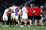 Valencia CF's team celebrates the victory in the Spanish King's Cup Final match. May 25,2019. (ALTERPHOTOS/Carrusan)