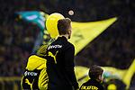 10.02.2018, Signal Iduna Park, Dortmund, GER, 1.FBL, Borussia Dortmund vs Hamburger SV, <br /> <br /> im Bild | picture shows:<br /> Marco Reus (Borussia Dortmund #11) f&uuml;hrt die Mannschaft von Borussia Dortmund als Kapit&auml;n aufs Feld, <br /> <br /> <br /> Foto &copy; nordphoto / Rauch